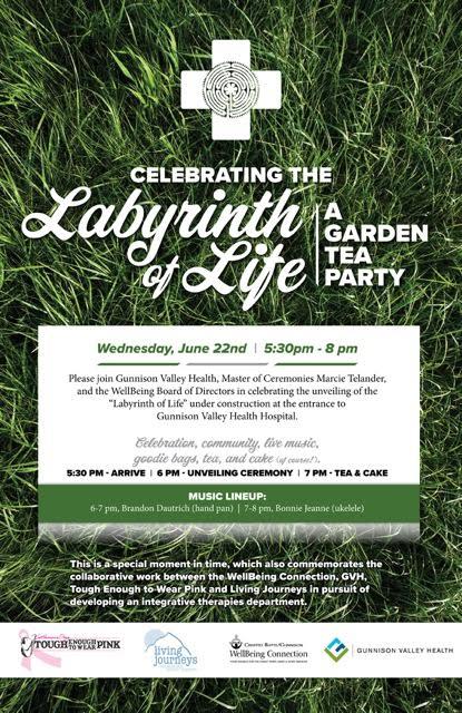Wellness Event Labyrinth of Life 2016