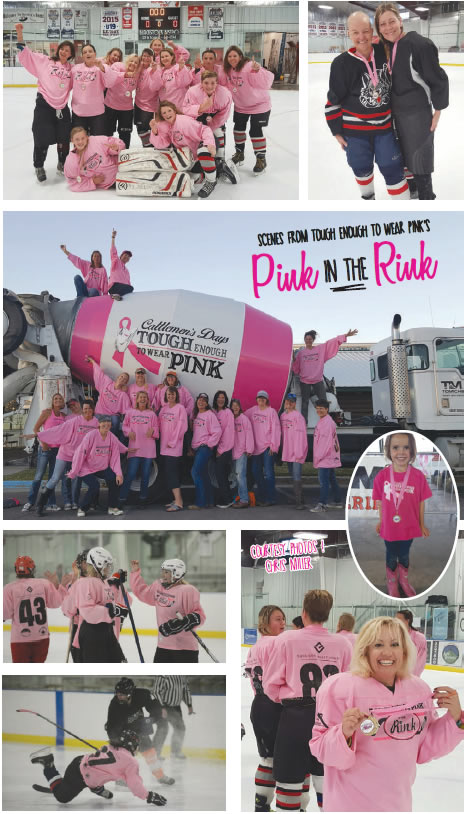 Crested Butte News Scenes from Pink in the Rink