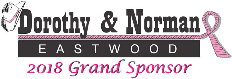 2018 TETWP Grand Sponsors Dorothy and Norman Eastwood
